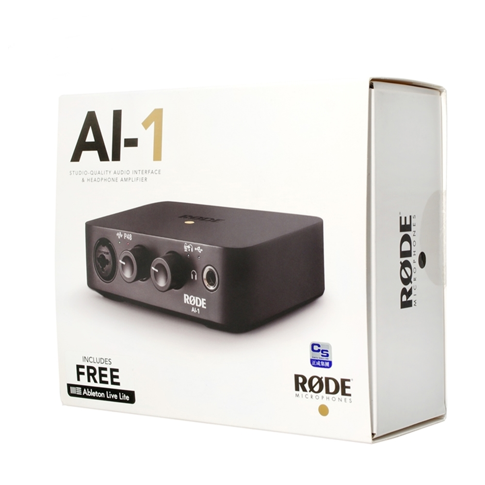 澳洲RODE 專業電腦Type-C收音錄音介面(AI-1)