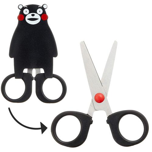 日本CANARY|熊本熊KUMAMON特別款不銹鋼剪刀