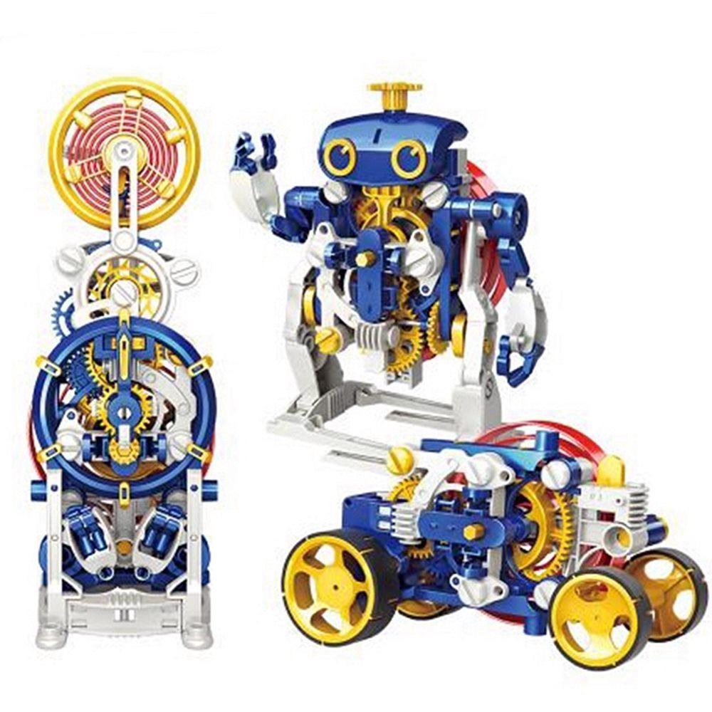 台灣Pro'sKit寶工 科學玩具3合1英倫發條時鐘先生