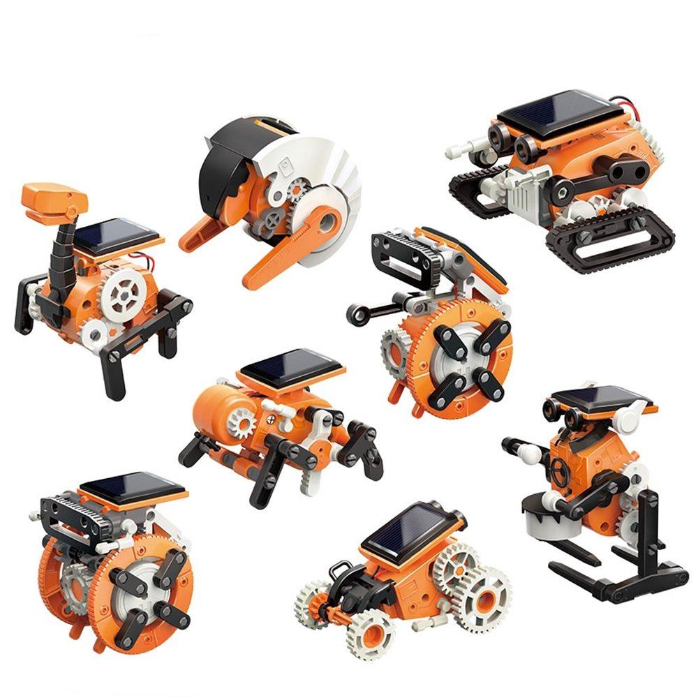 台灣Pro'sKit寶工 科學玩具淘氣小8環保動力八變太陽能機器人