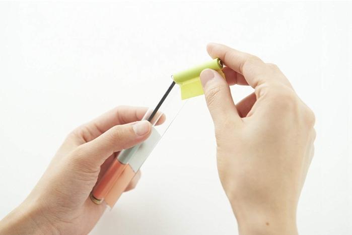 日本Kanmido|PENtoNE筆型便利貼紙補充包 ( PT-110系列 )