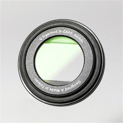 (複製)Freemod|半自動鏡頭蓋含STC保護鏡 ( X-CAP2 49mm Silver+保護鏡 )