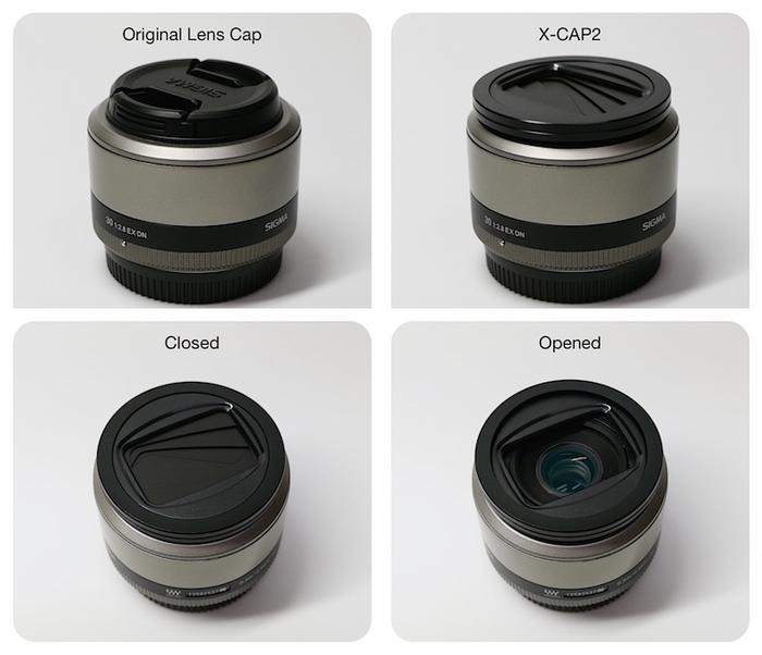 (複製)Freemod 半自動鏡頭蓋 ( X-CAP2 49mm Silver )