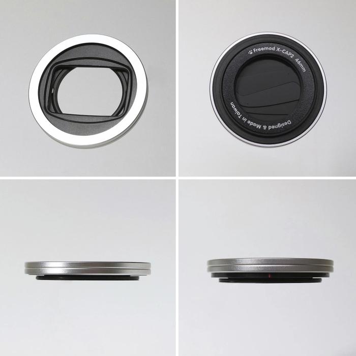 (複製)Freemod|半自動鏡頭蓋 ( X-CAP2 40.5mm Black )