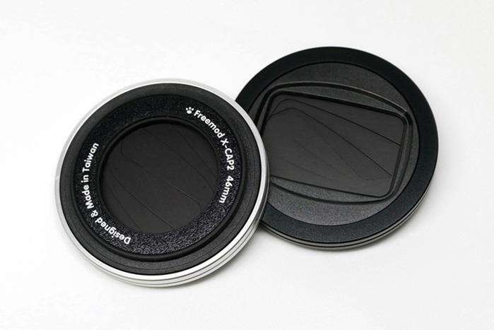 (複製)Freemod|半自動鏡頭蓋 ( X-CAP2 37mm Silver )