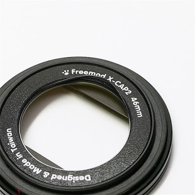 (複製)Freemod|半自動鏡頭蓋 ( X-CAP2 52mm Black )