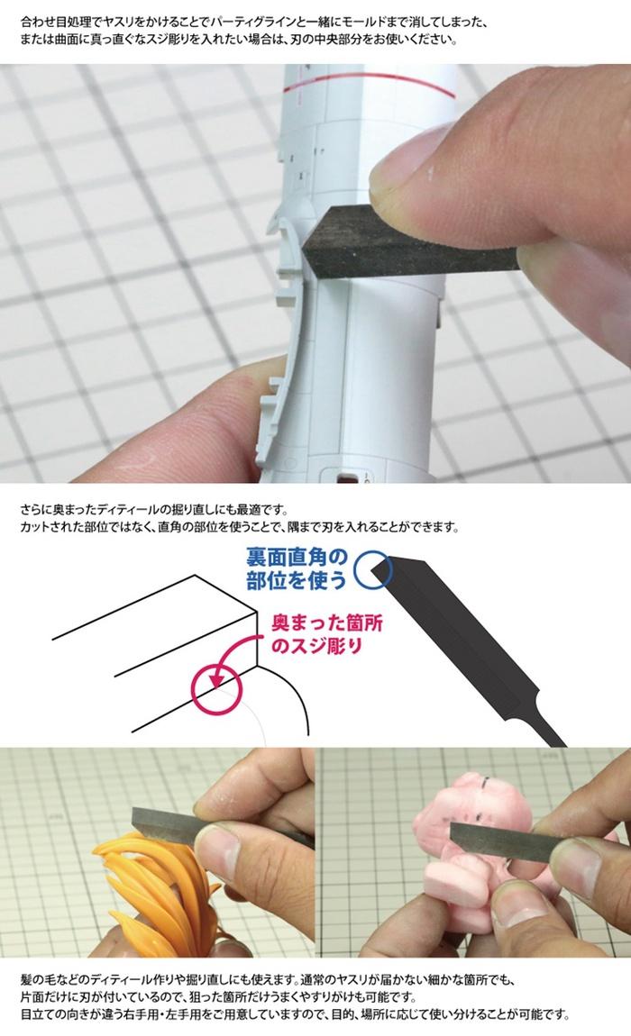 (複製)日本神之手GodHand|單面薄刃刻線刀含木質握柄 ( 左手;GH-SBYS-GL )