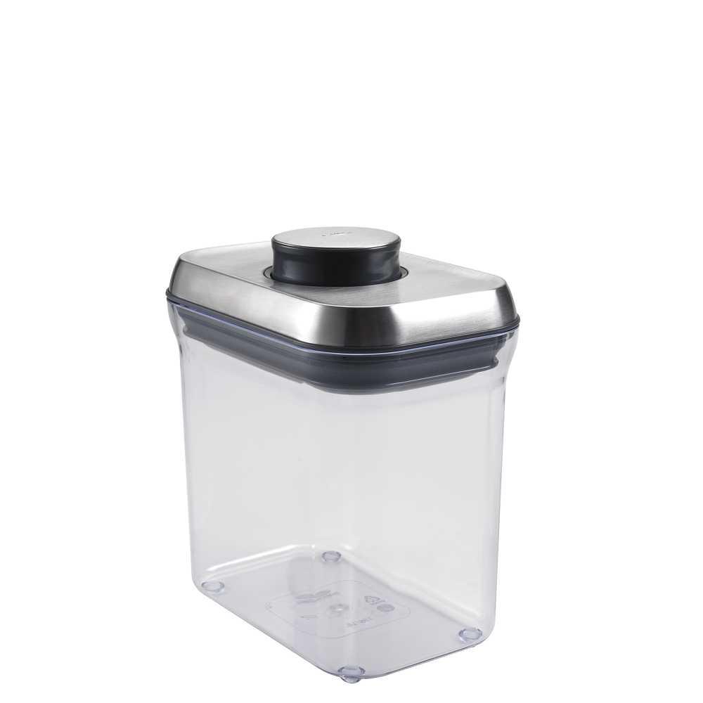 OXO|不鏽鋼保鮮收納盒三件組(0.5L、0.9L、1.4L)