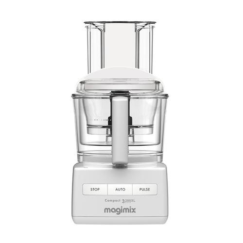 MAGIMIX|萬用食物處理機-3200L (贈冷壓蔬果機、電子料理秤、活性碳長鮮盒) 璀璨白