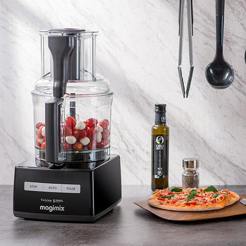MAGIMIX|萬用食物處理機-3200L (贈冷壓蔬果機、電子料理秤、活性碳長鮮盒) 時尚黑