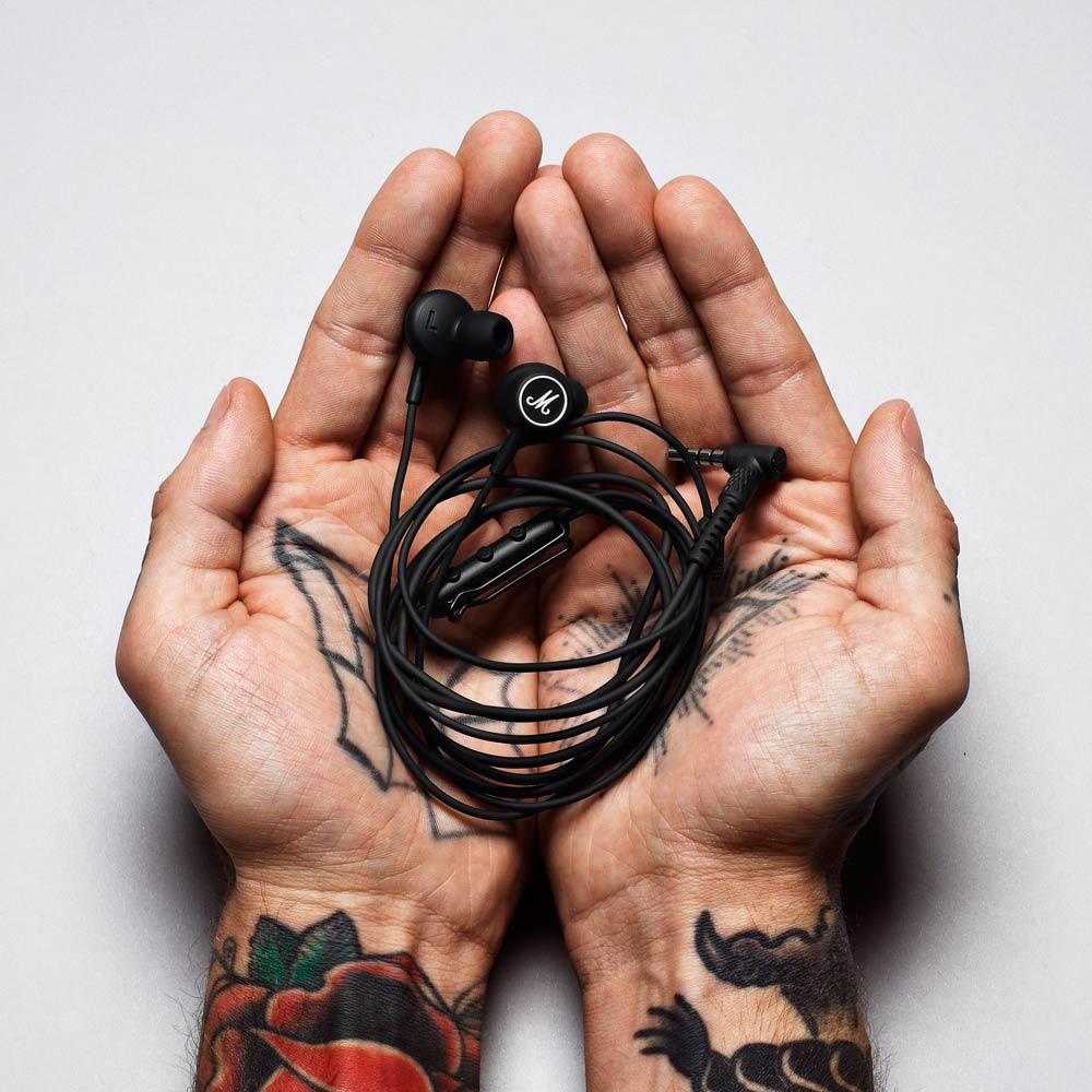 Marshall|Mode 耳道式耳機-黑/白