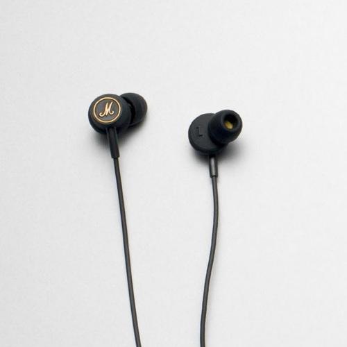 Marshall|Mode EQ 耳道式耳機-黑金