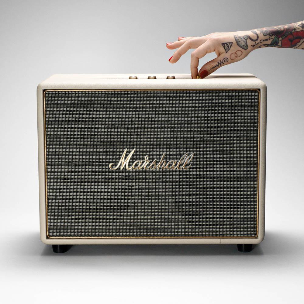 Marshall|Woburn 藍牙喇叭- 奶油白