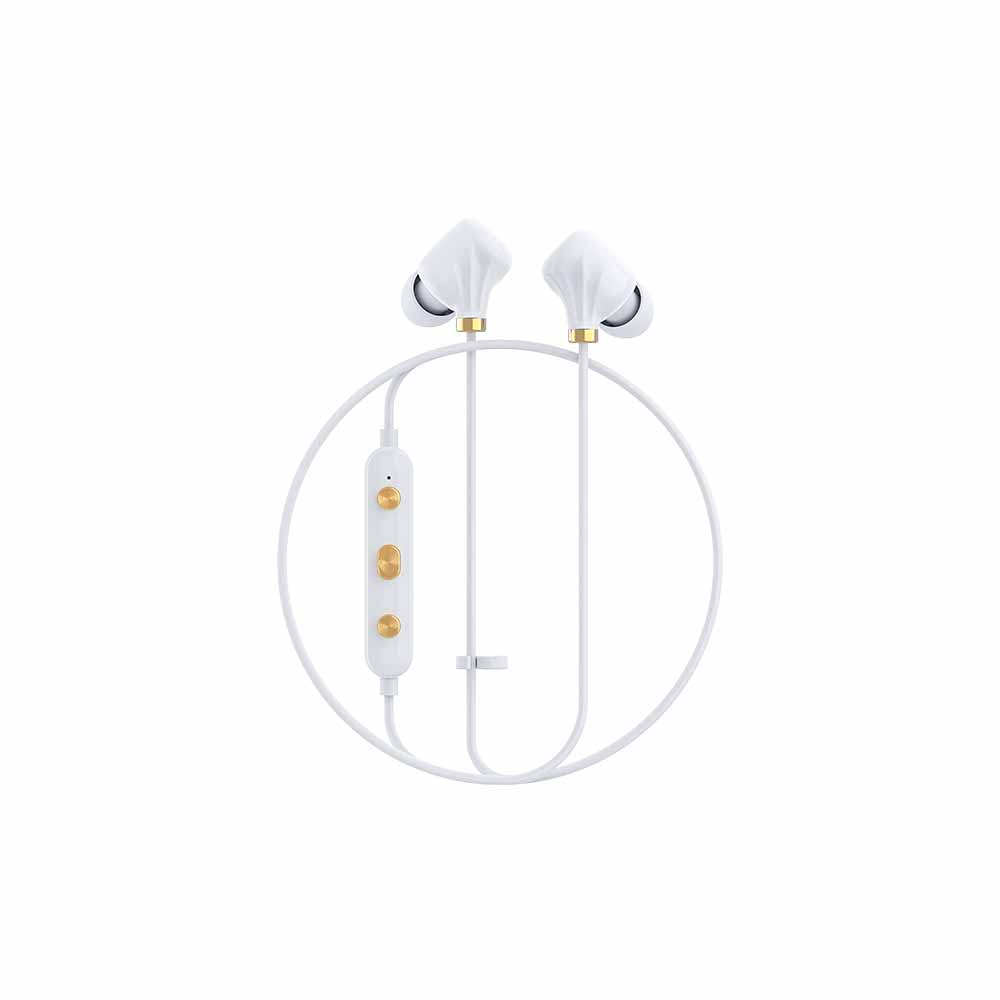 HAPPY PLUGS|Ear Piece II 藍牙墜飾耳道式耳機(白金)