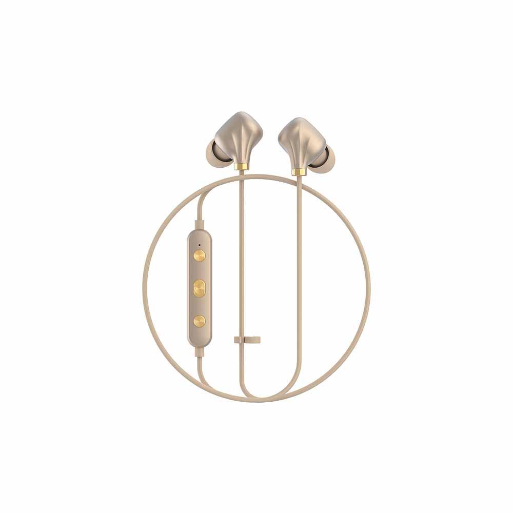 HAPPY PLUGS Ear Piece II 藍牙墜飾耳道式耳機(霧面金)