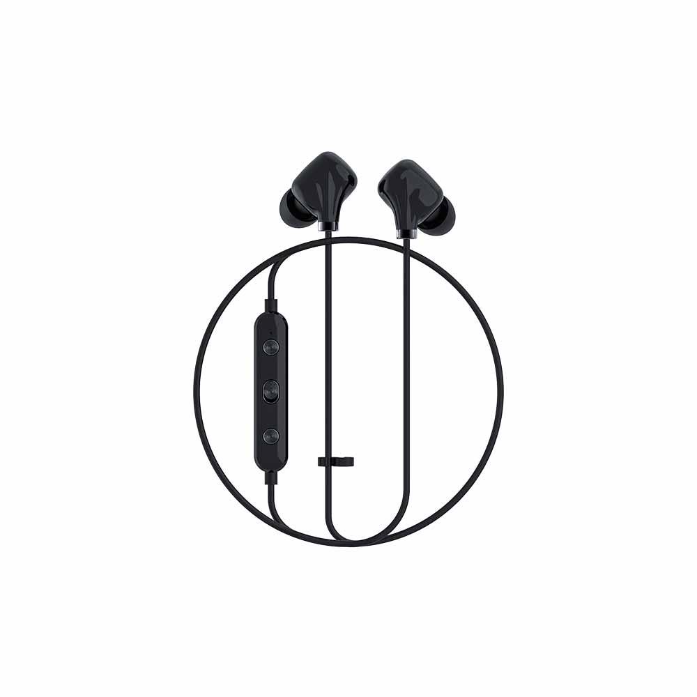 HAPPY PLUGS|Ear Piece II 藍牙墜飾耳道式耳機(炫黑)