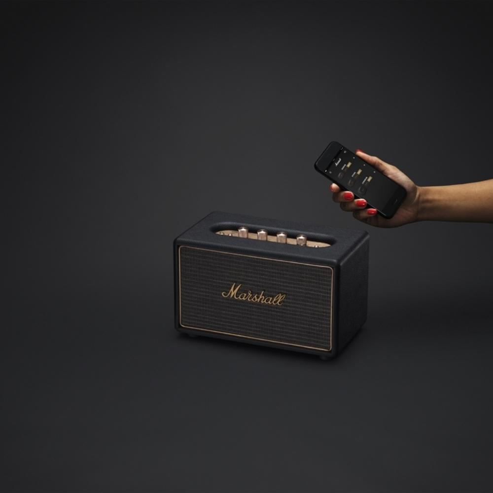 Marshall|ACTON Multi-room system無線多空間串流系統喇叭(經典黑)