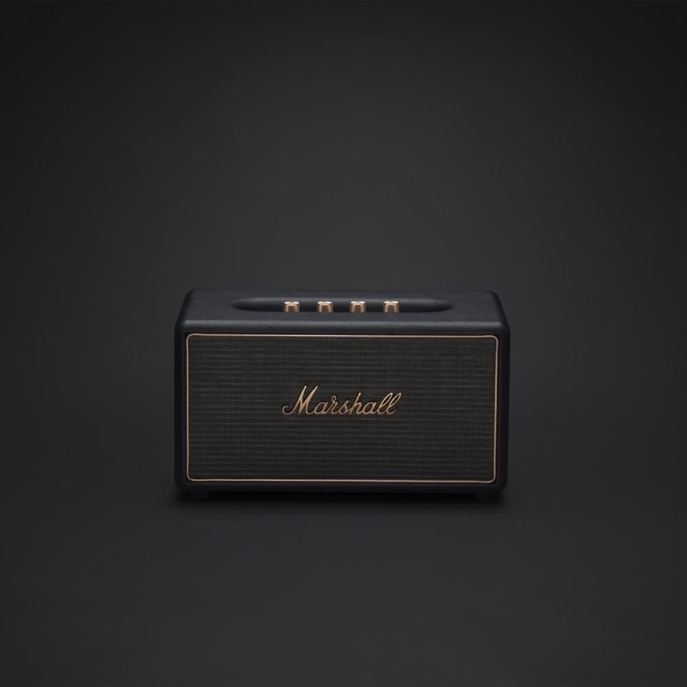 Marshall|STANMORE Multi-room system無線多空間串流系統喇叭(經典黑)