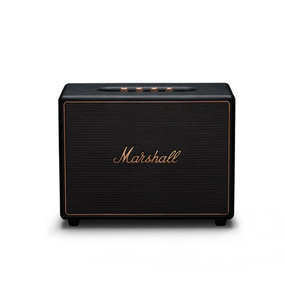 Marshall|WOBURN Multi-room system無線多空間串流系統喇叭(經典黑)