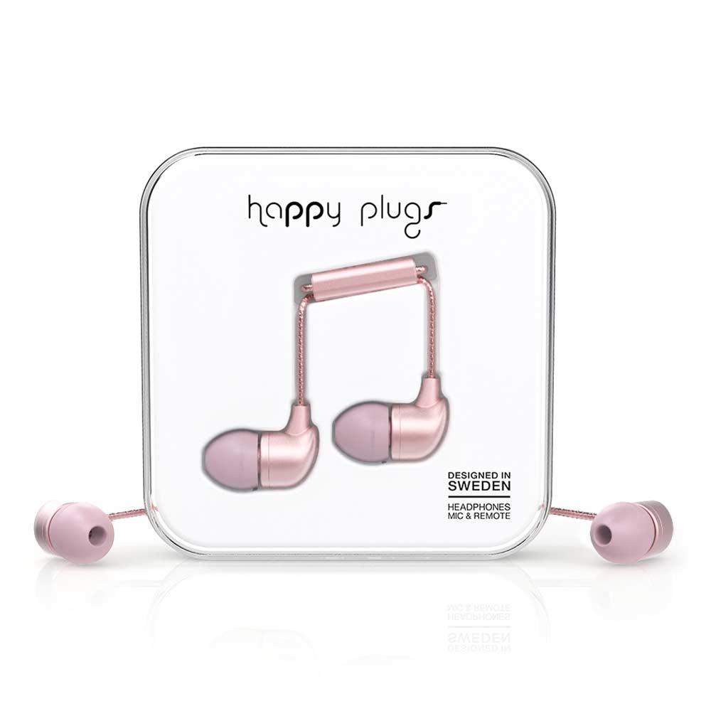 HAPPY PLUGS|In Ear 耳道式耳機(粉色金)