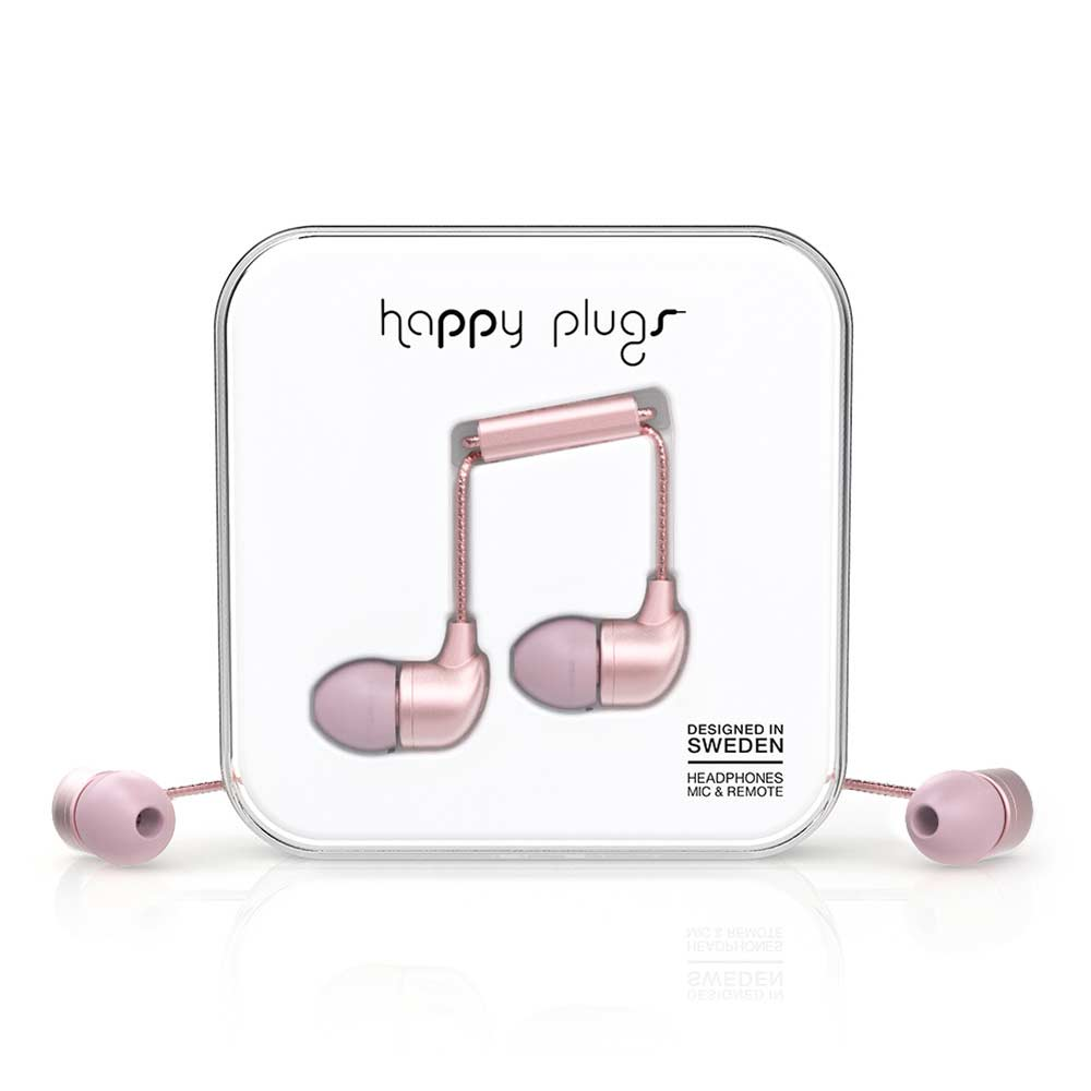 HAPPY PLUGS|In Ear 耳道式耳機(粉色金)