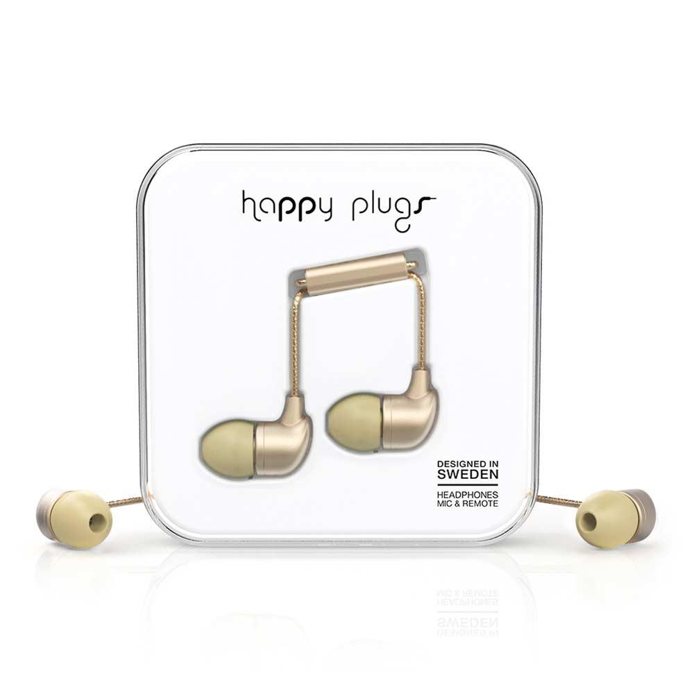 HAPPY PLUGS|In Ear 耳道式耳機(香檳金)