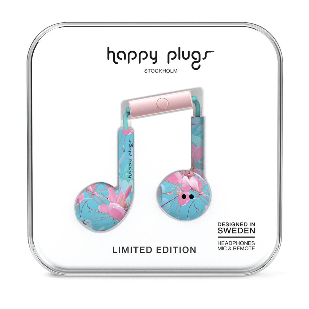 HAPPY PLUGS|Earbud Plus 極致耳塞式耳機(Botanica Exotica異國花卉戀)