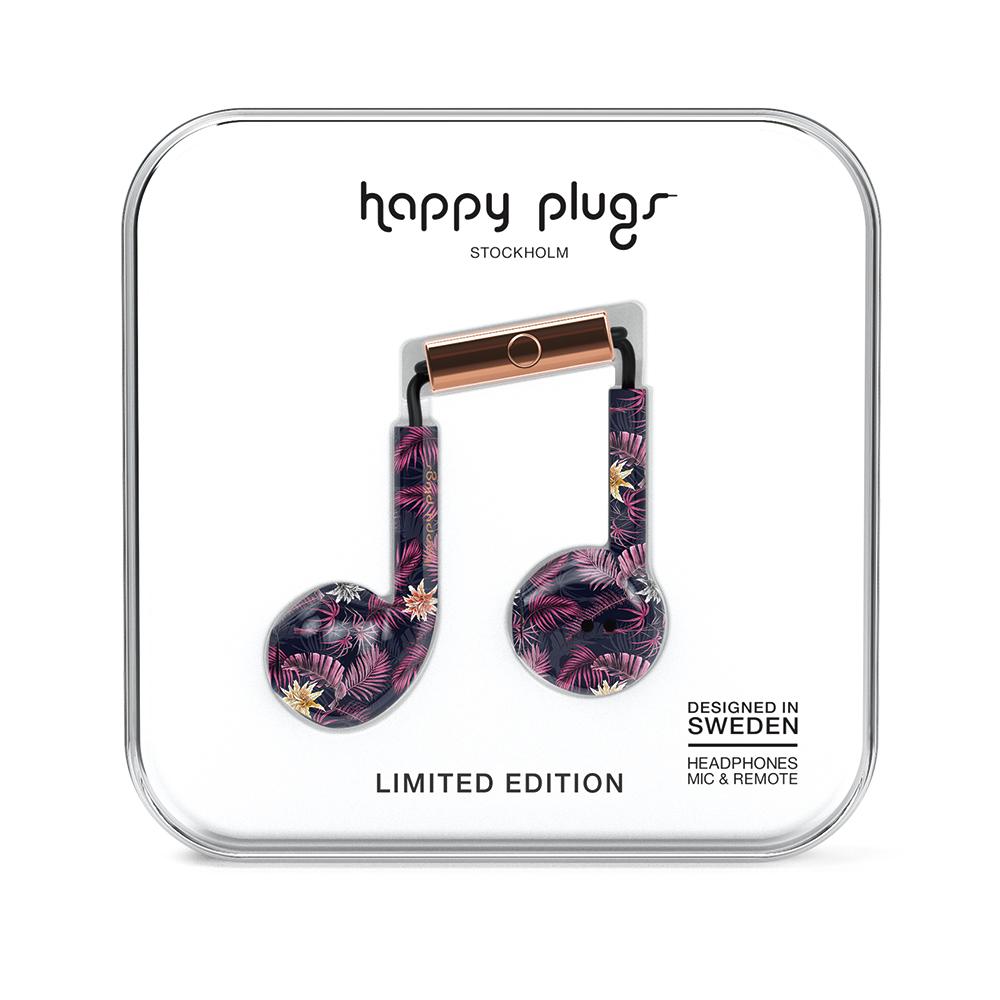 HAPPY PLUGS|Earbud Plus 極致耳塞式耳機(Hawaiian Nights夏威夷狂夜)