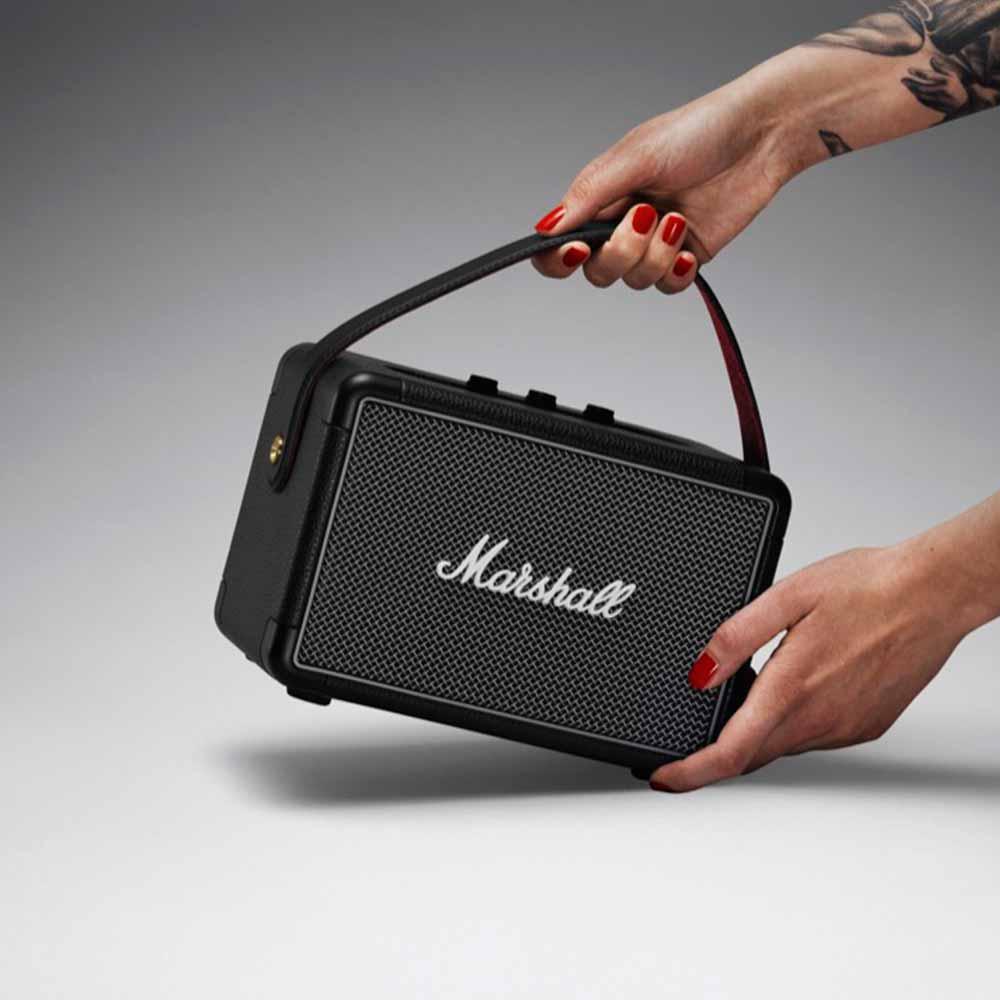 Marshall|Kilburn II 攜帶式藍牙喇叭(經典黑)
