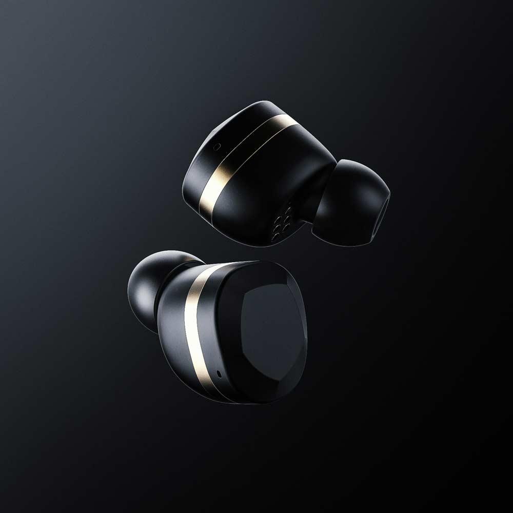 YEVO|Yevo 1 真無線藍牙耳道式耳機(瑪瑙黑)