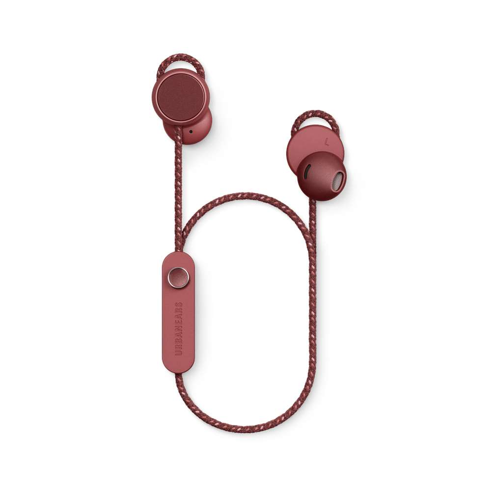 URBANEARS|JAKAN 藍牙耳塞式耳機(桑葚紅)