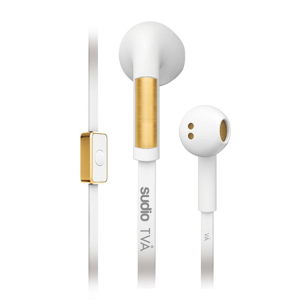 SUDIO|TVA 優雅質感耳塞式耳機(白)