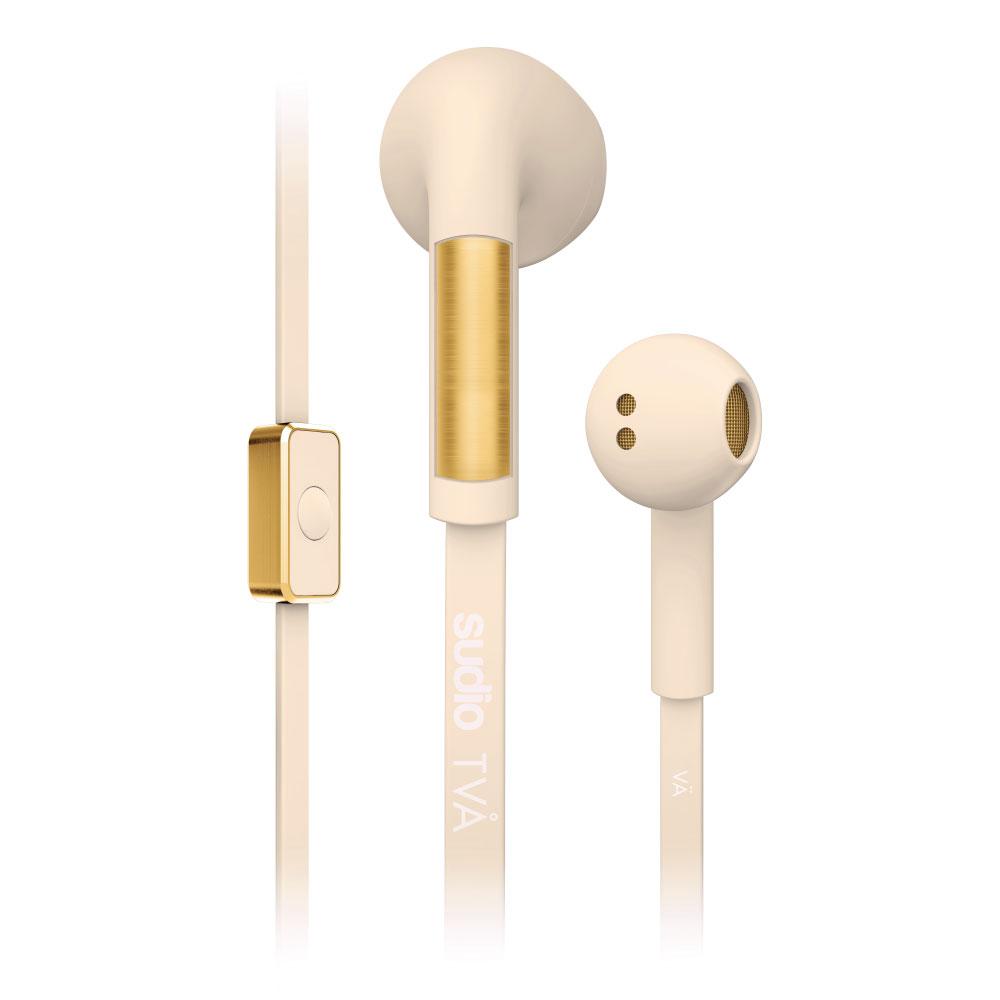 SUDIO|TVA 優雅質感耳塞式耳機(沙灘白)