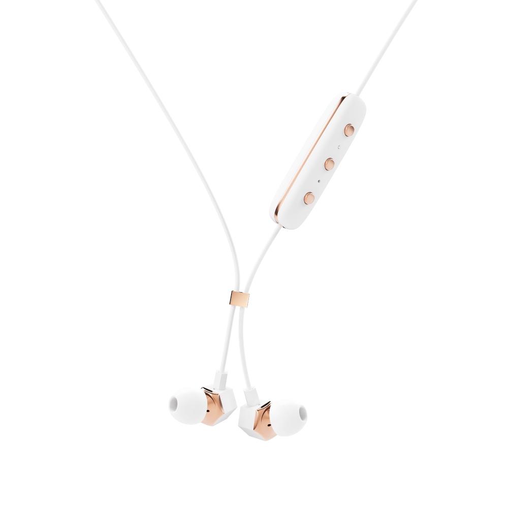 HAPPY PLUGS Ear Piece 藍牙墜飾耳道式耳機(白金)