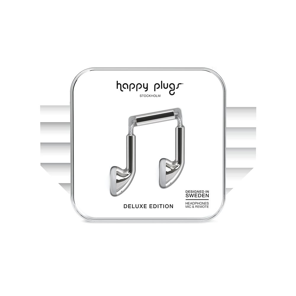 HAPPY PLUGS|Earbud 耳塞式耳機(銀色)