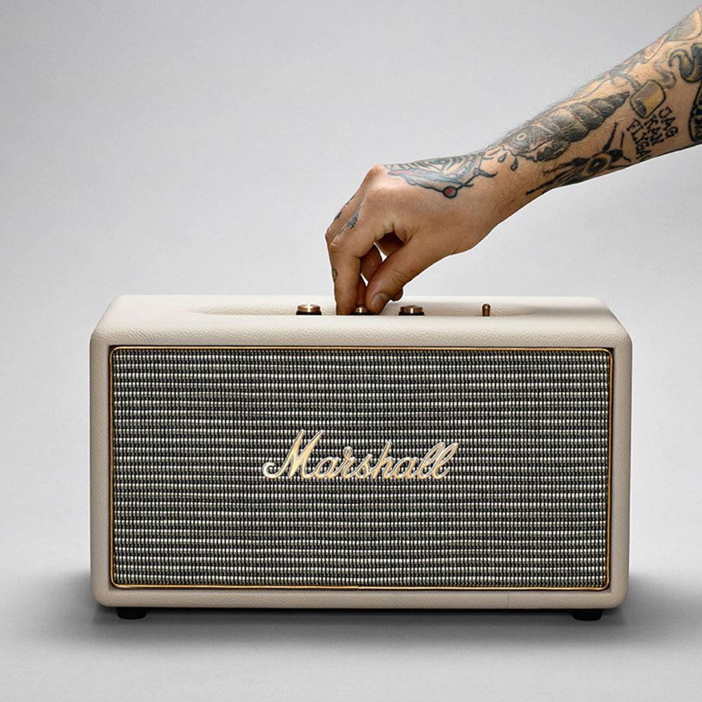 Marshall|Stanmore 藍牙喇叭-奶油白