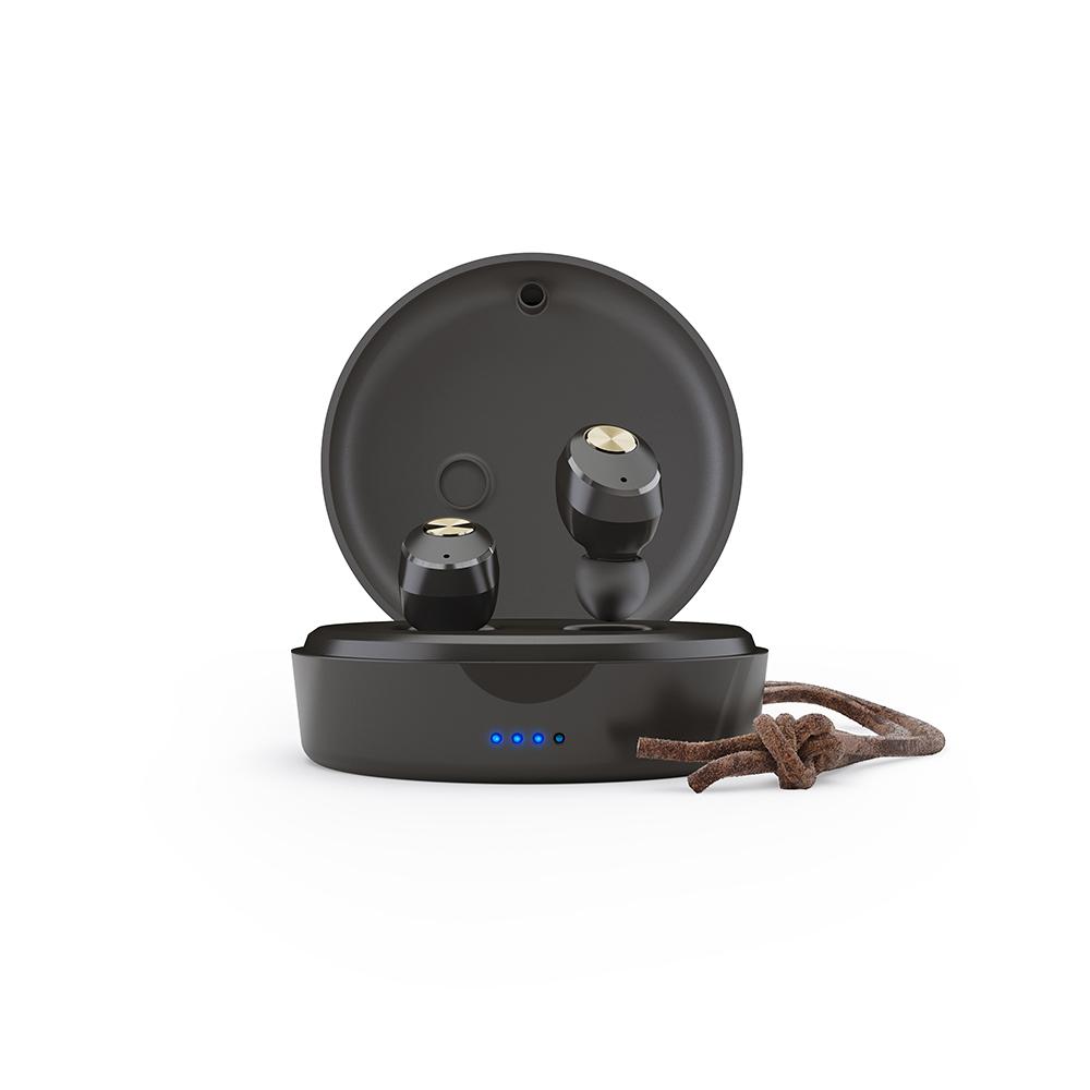 SUDIO| NIVA真無線藍牙耳道式耳機 (黑金)
