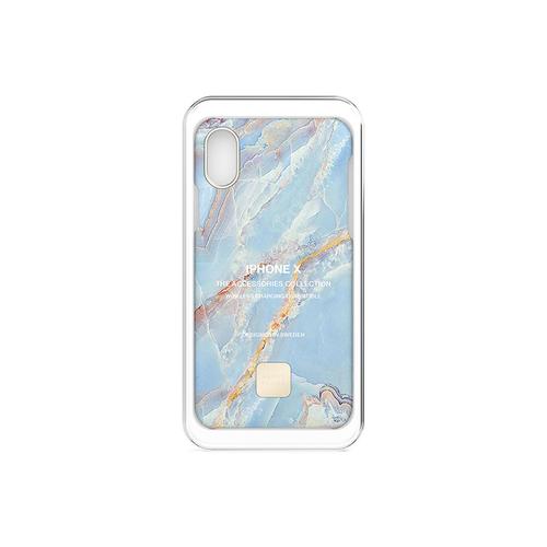 HAPPY PLUGS|iPhone手機殼 大理石系列(藍石英)