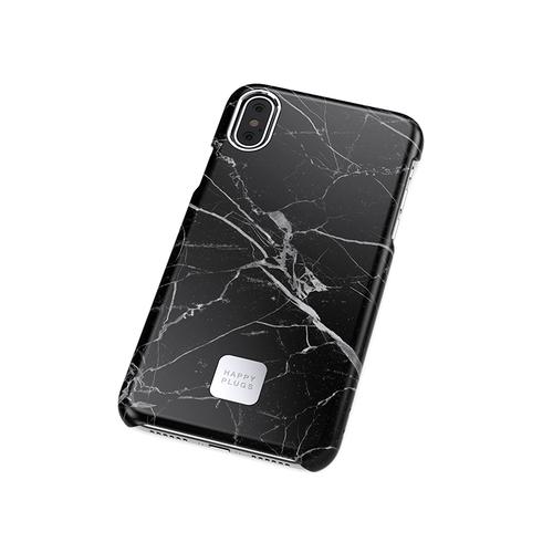HAPPY PLUGS|iPhone手機殼 大理石系列(大理石黑)