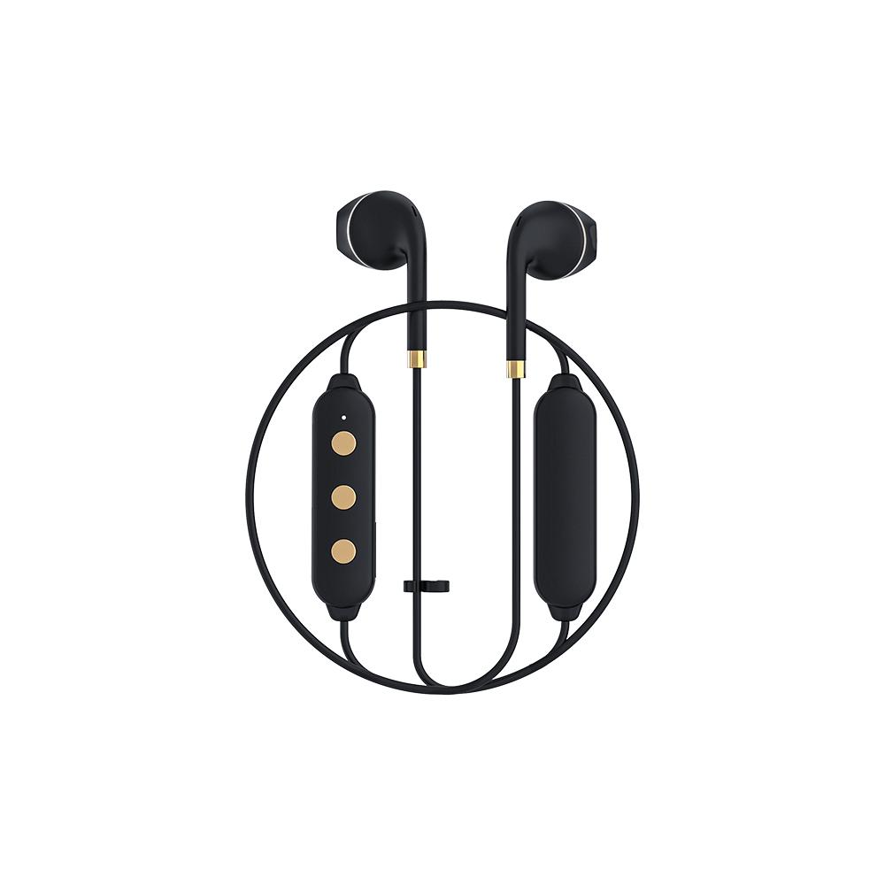 HAPPY PLUGS Earbud Plus Wireless II 極簡時尚藍牙耳機(黑金)