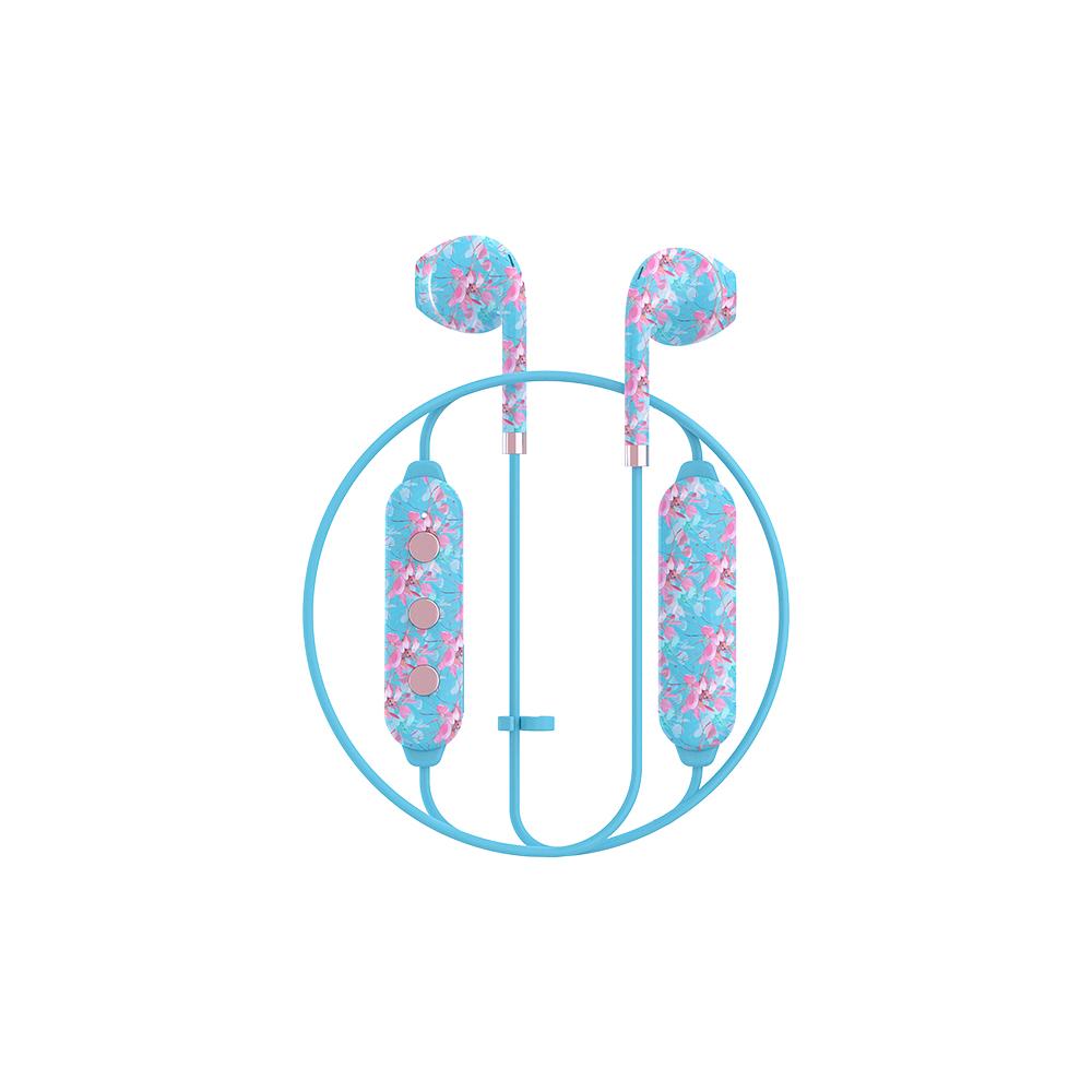HAPPY PLUGS|Earbud Plus Wireless II 極簡時尚藍牙耳機(異國花卉戀)