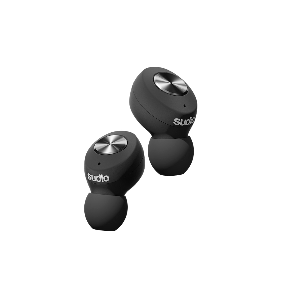 SUDIO|Tolv真無線藍牙耳道式耳機(黑)