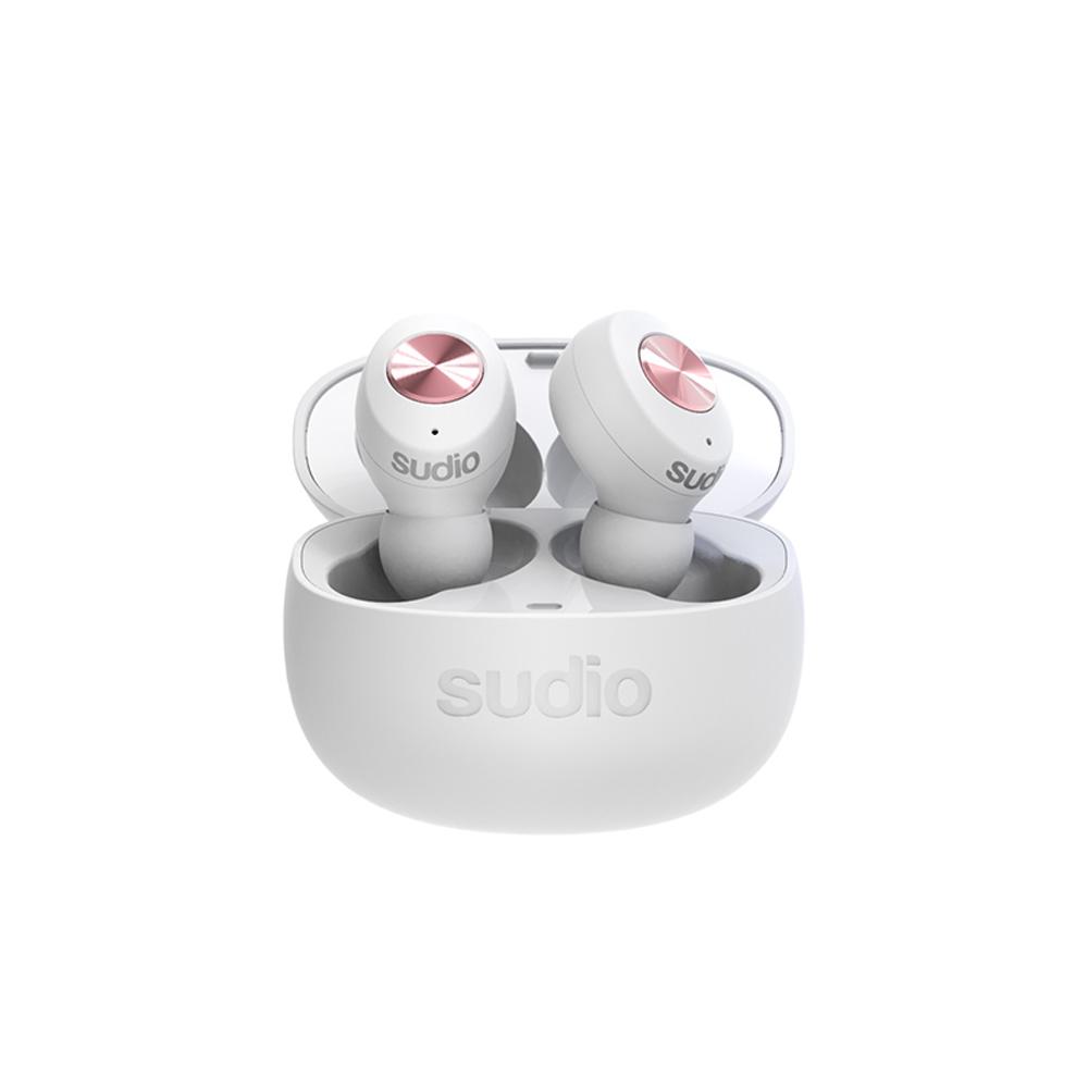 SUDIO|Tolv真無線藍牙耳道式耳機(白)