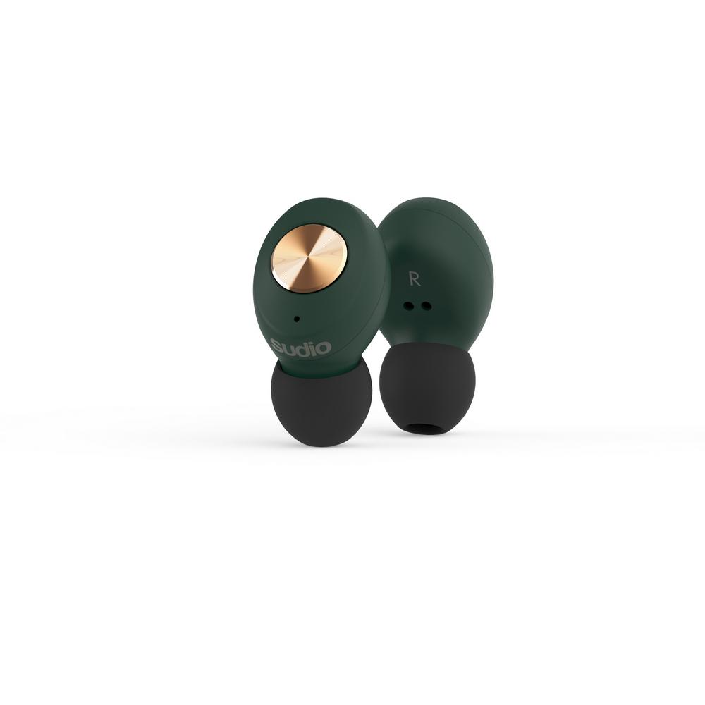 SUDIO|Tolv真無線藍牙耳道式耳機(綠)