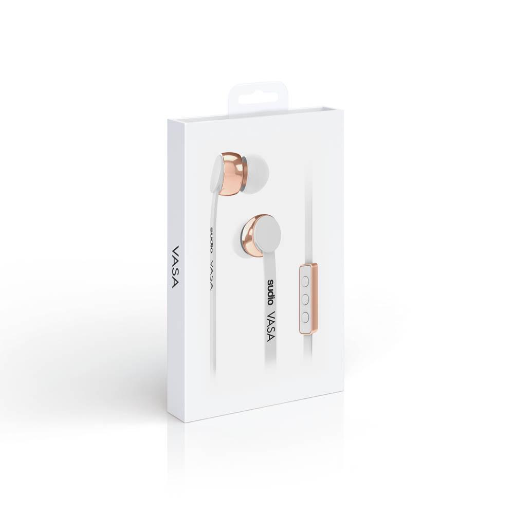 SUDIO|Vasa 耳道式耳機(Android系統專用)- 白