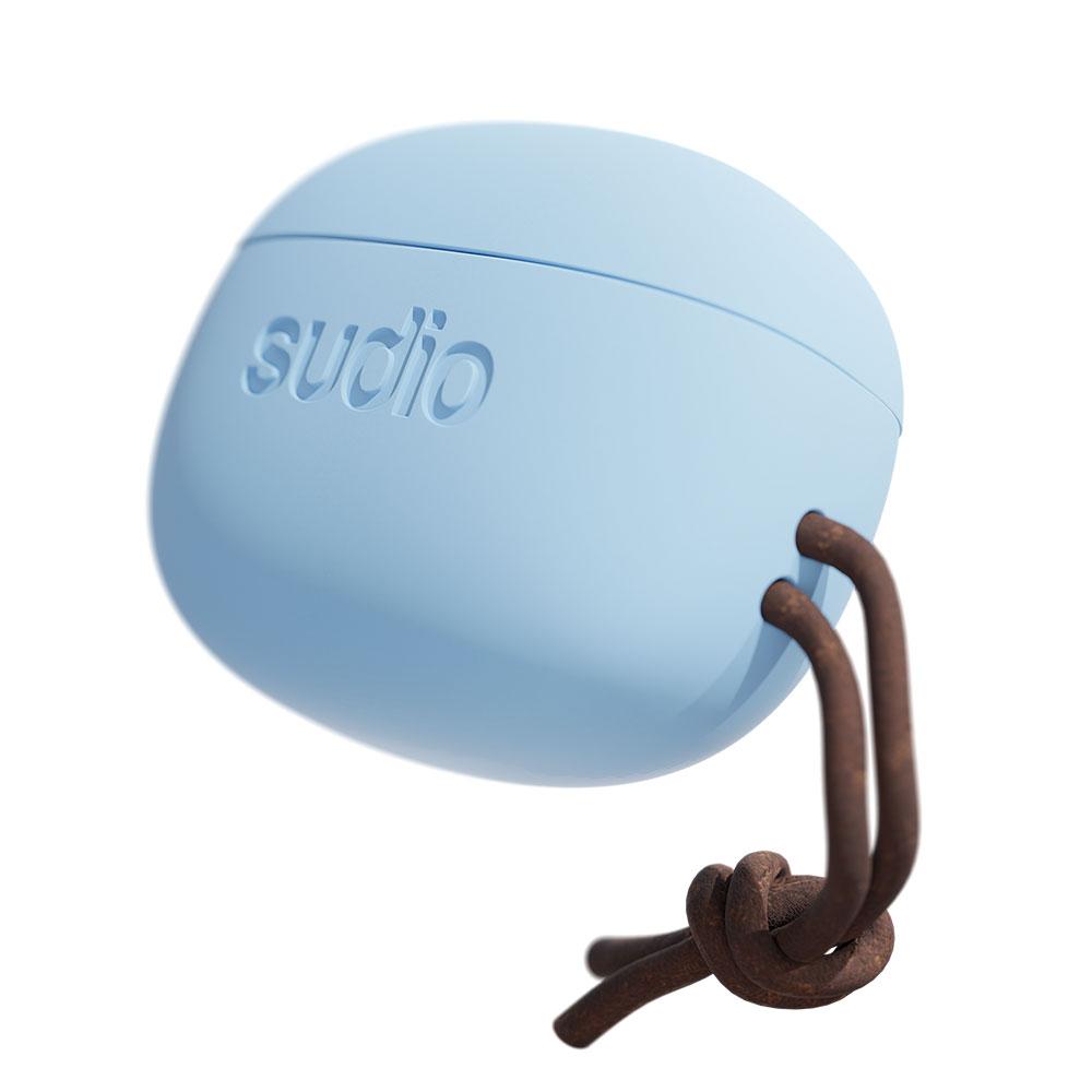 SUDIO|Tolv真無線藍牙耳道式耳機(粉藍)