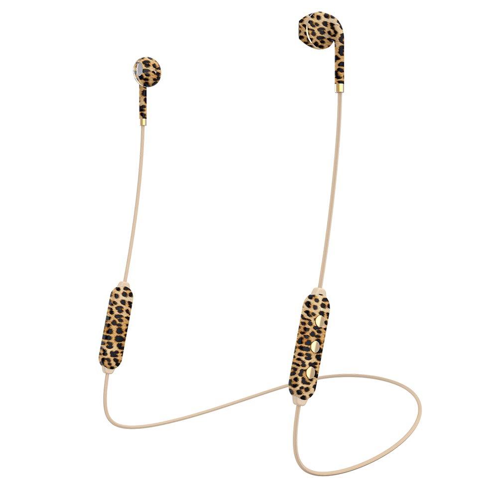 HAPPY PLUGS|Earbud Plus Wireless II 極簡時尚藍牙耳機(豹紋)