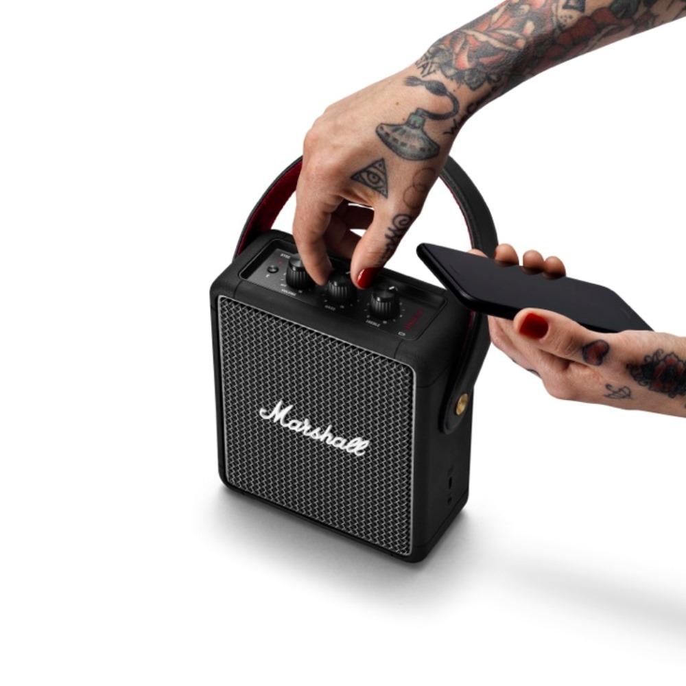 Marshall|Stockwell II 攜帶式藍牙喇叭(經典黑)