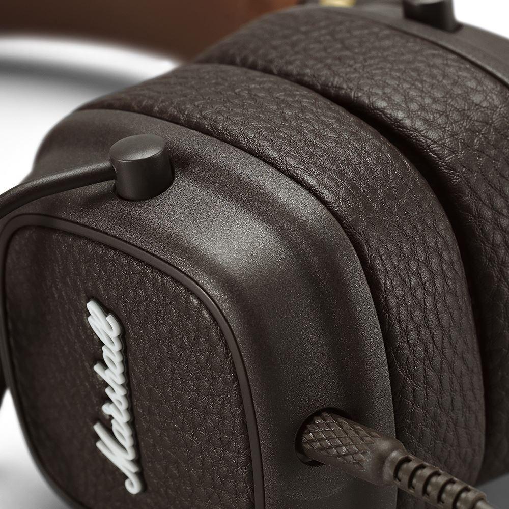 Marshall|Major III 耳罩式耳機 - 復古棕