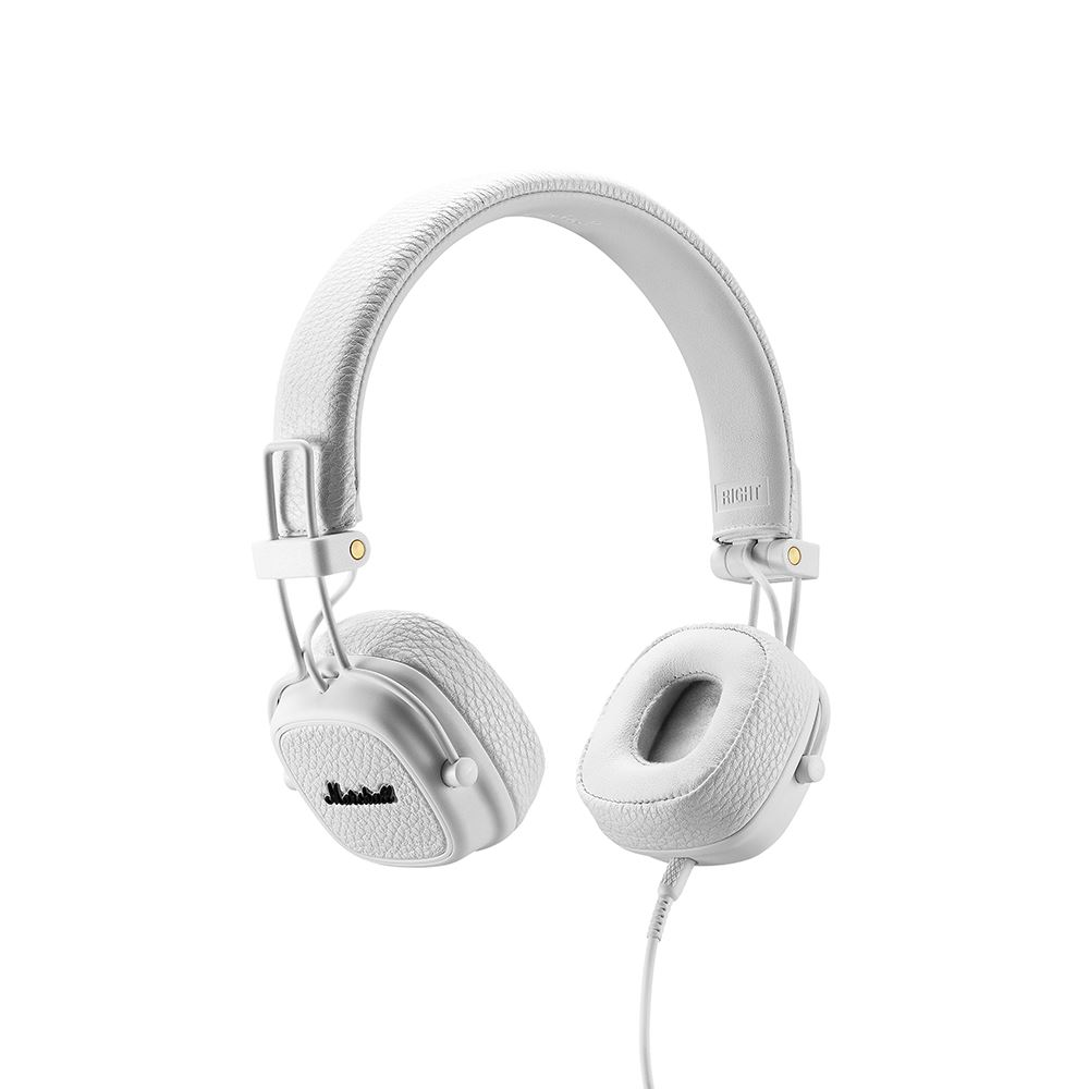Marshall|Major III 耳罩式耳機 - 經典白